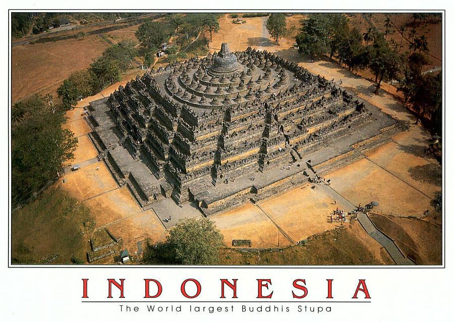 Индонезия. Ява: Боробудур