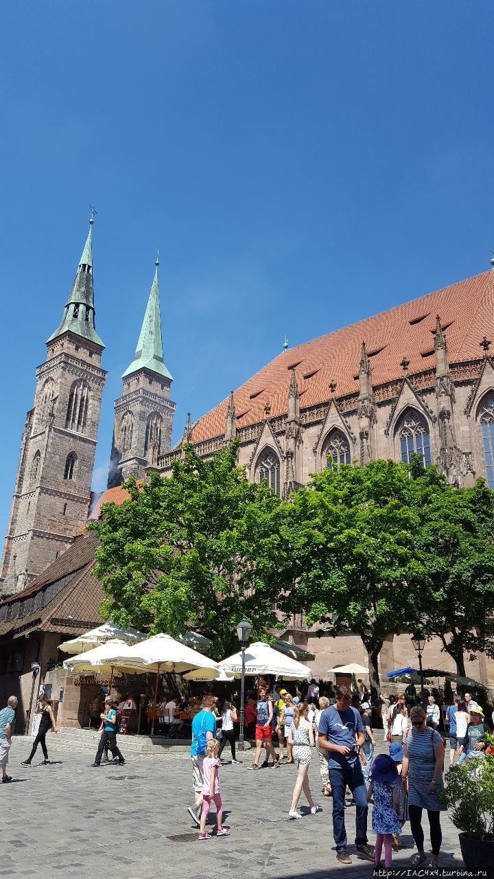 Самая старая готическая церковь Нюрнберга