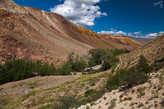 Марс Земли — долина реки Кызыл-Чин.