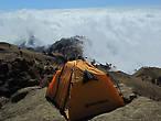 Палатка в облаках