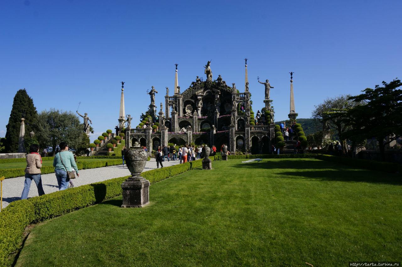Чудо-парк на острове-«фрегате» Остров Белла, Италия
