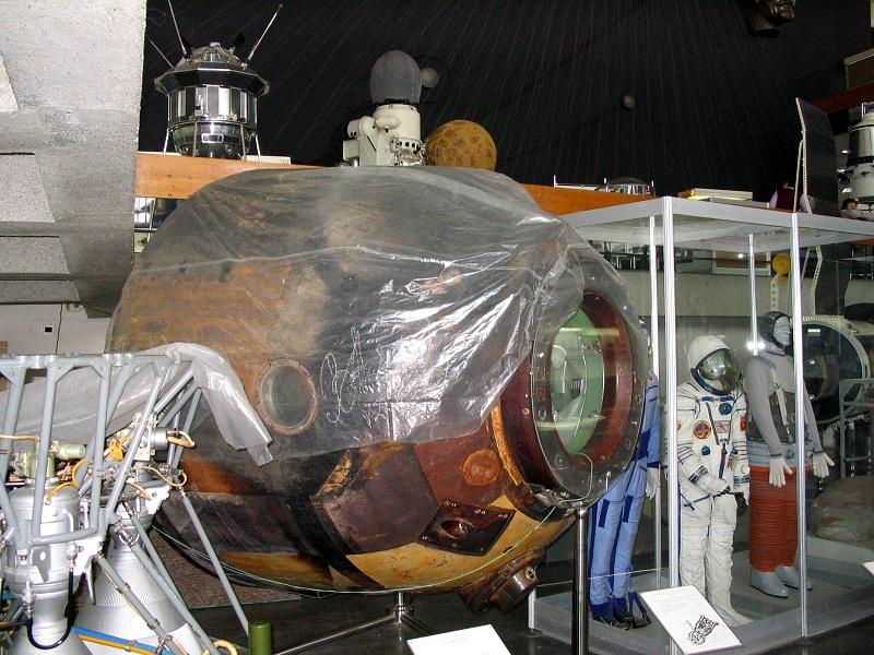 Спускаемый аппарат Союз-34 (настоящий)