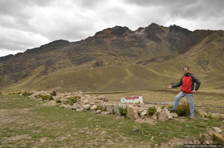 На высоте 4335 м в Ла Райе (не Рай, но близко :)