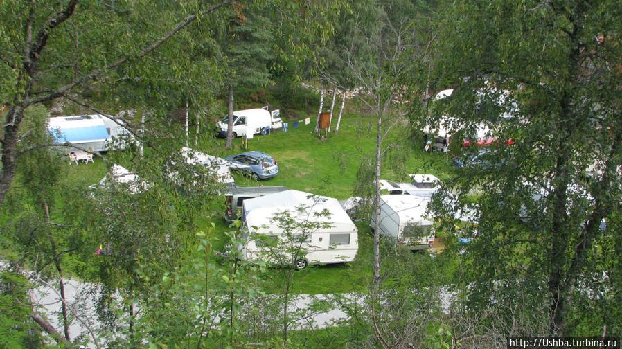 Оддестеммен кемпинг Эвье, Норвегия