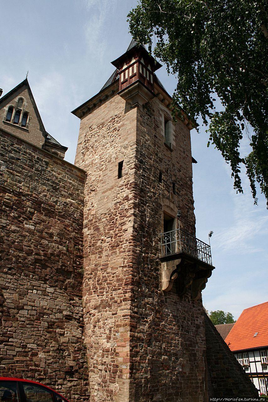Вернигероде — замок, где