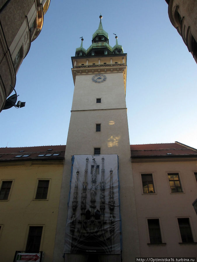 Старая ратуша реставрируется