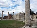 Это была одна из красивейших византийский церквей и местом паломничества христиан.