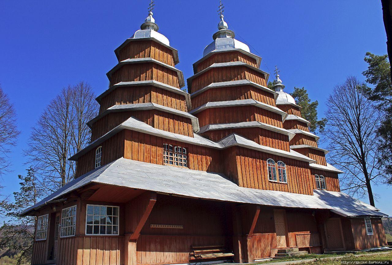 Деревянные церкви Карпат. Матков (объект ЮНЕСКО № 1424-005)