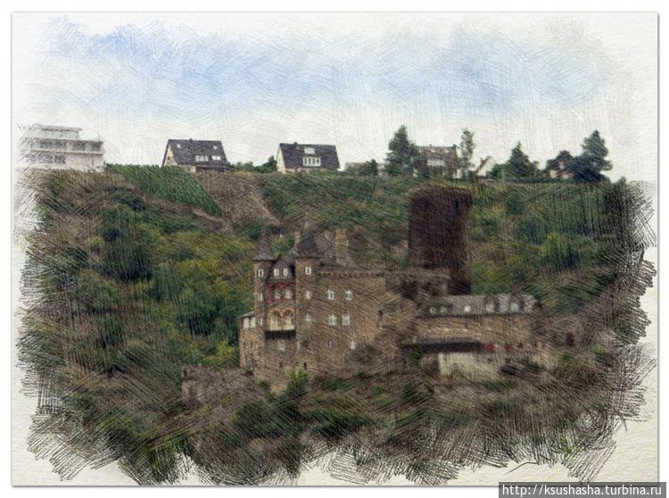 Знаменитый замок Кац, изн