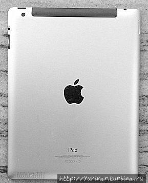 У планшетов iPad, имеющих