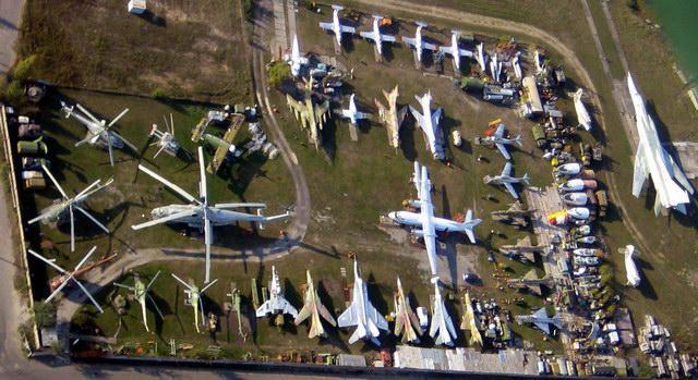 А так это выглядит с воздуха. С сайта музея