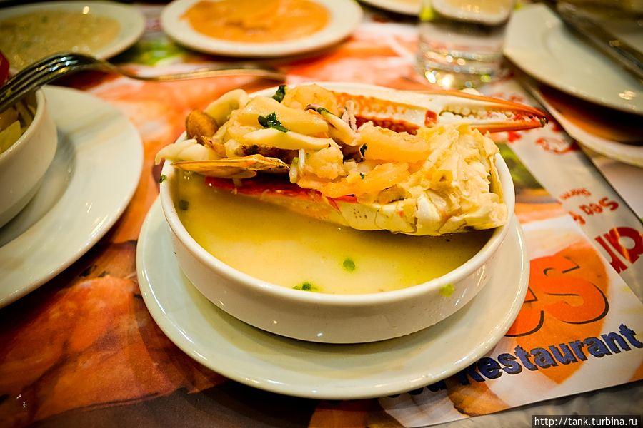 Суп морское ассорти