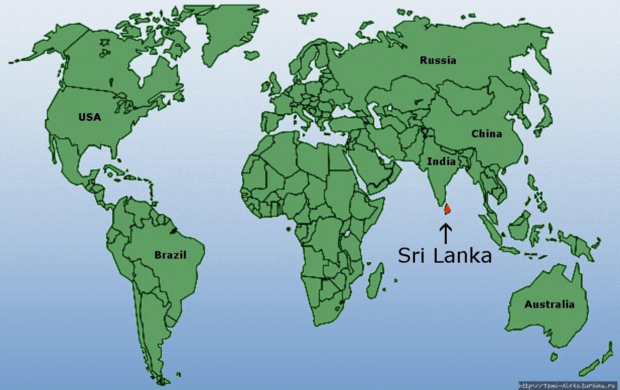 Первые впечатления вернувшегося из Шри-Ланки Шри-Ланка