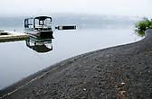 Озеро Квинолт (пляж отеля Lake Quinault Lodge)