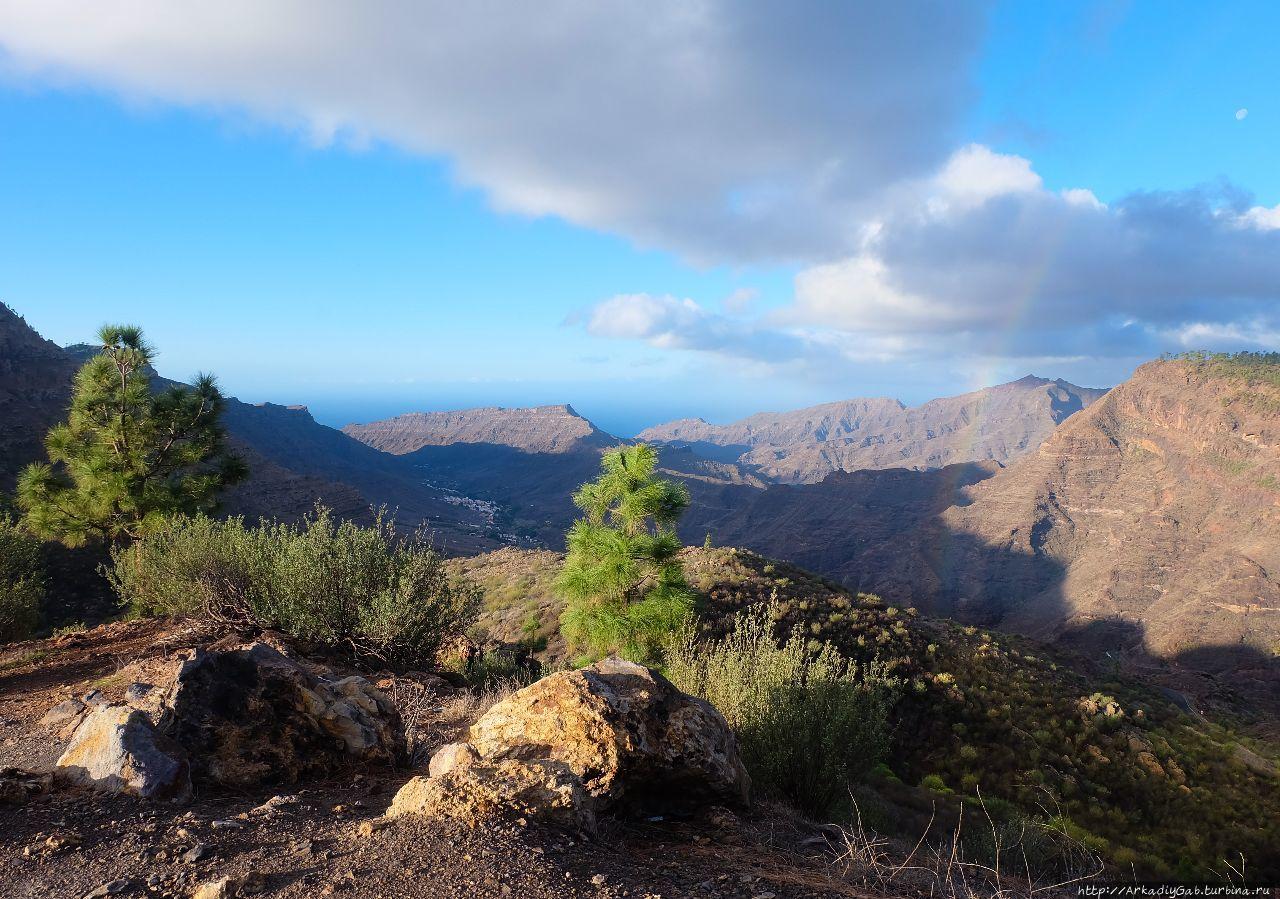 Гран-Канария. История бесконечной радуги Моган, остров Гран-Канария, Испания