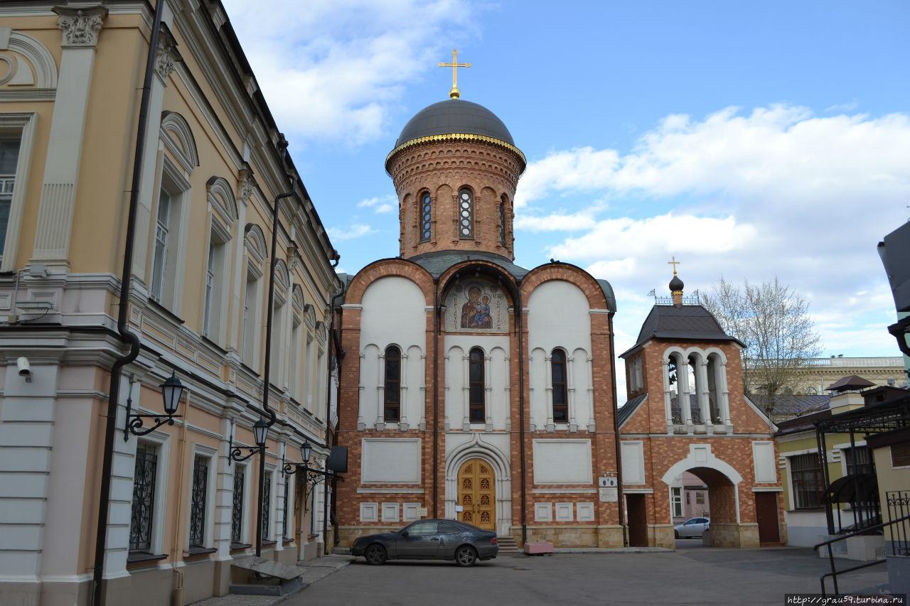 Вид со стороны улицы Малая Якиманка