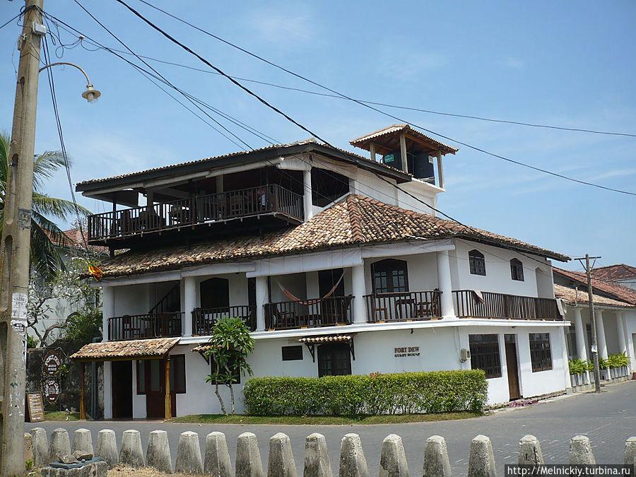 Прогулка по старинному городку Галле, Шри-Ланка