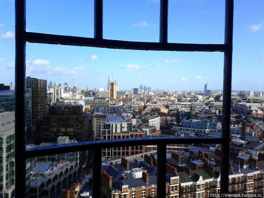 Вид с Вестминстерского собора