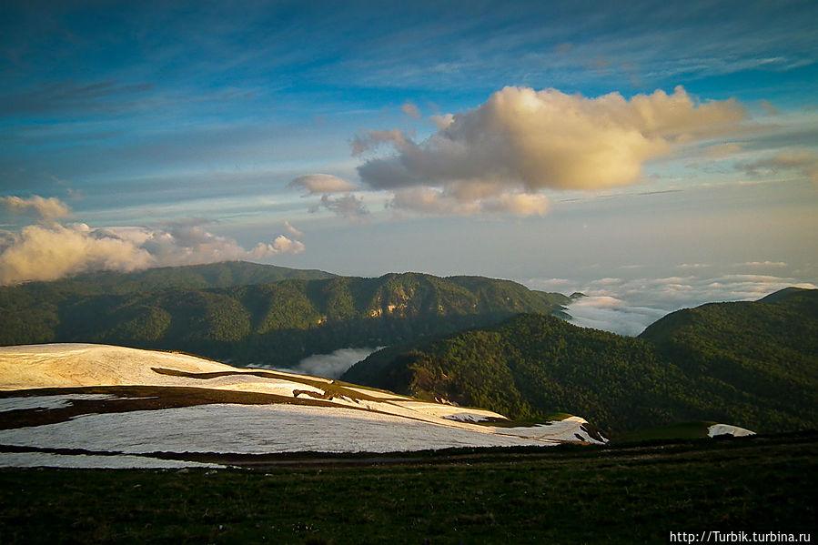 Взад-вперёд по Берчилю Цандрипш, Абхазия
