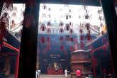 Дворик  китайского  храма.