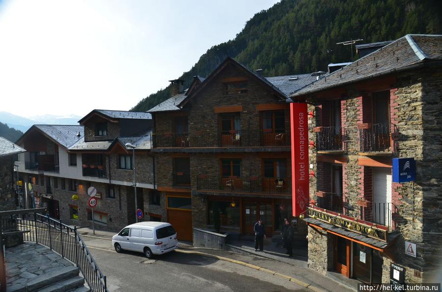 вид с улицы на отель