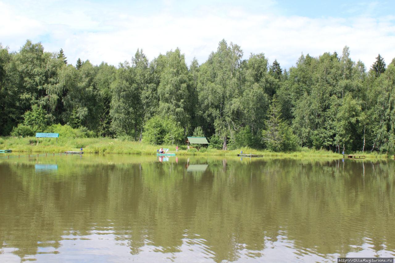 рыбалка в сергеево посадском районе
