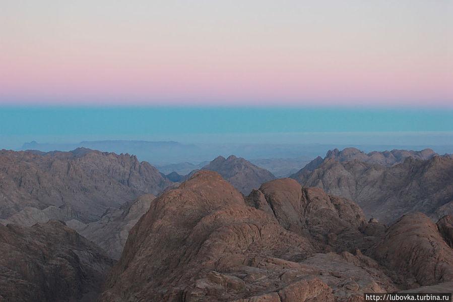 Утренний Синай. Декабрь 2012 г. Canon 550D EOS Монастырь Святой Екатерины, Египет