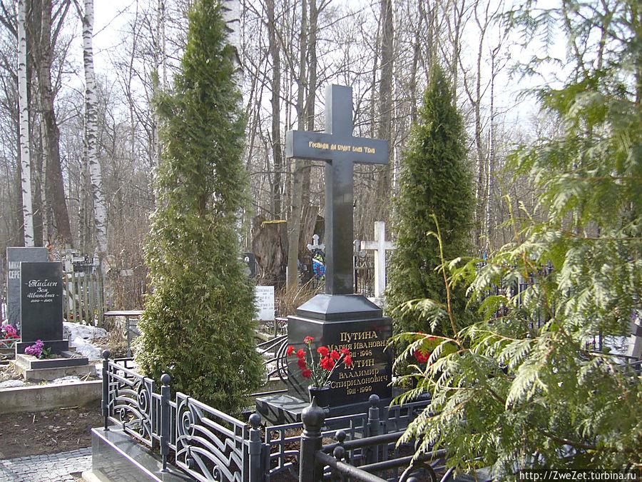 кладбища в санкт-петербурге фото