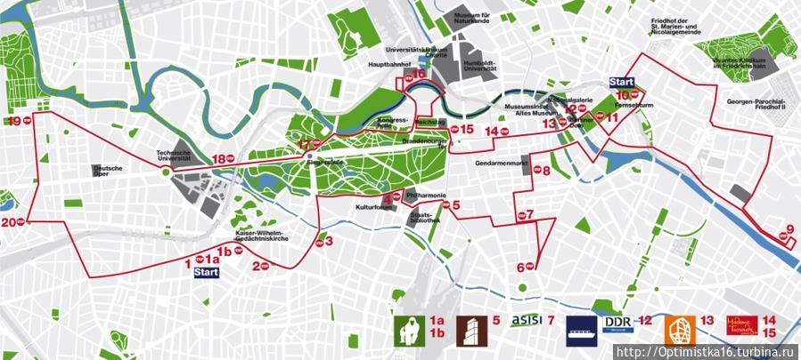 Карта маршрута (фото с сайта компании)