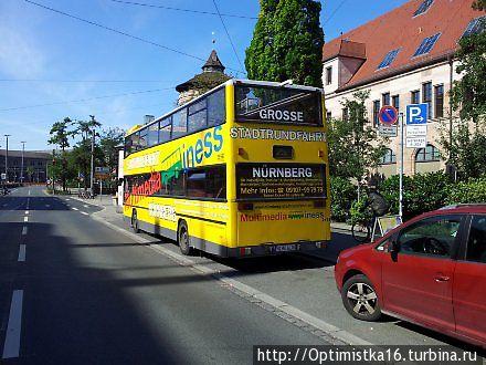 Автобусная остановка на основном рынке / за Фрауенкирхе до Commerzbank