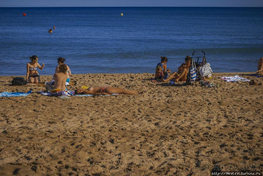 пляжи ситжес фото