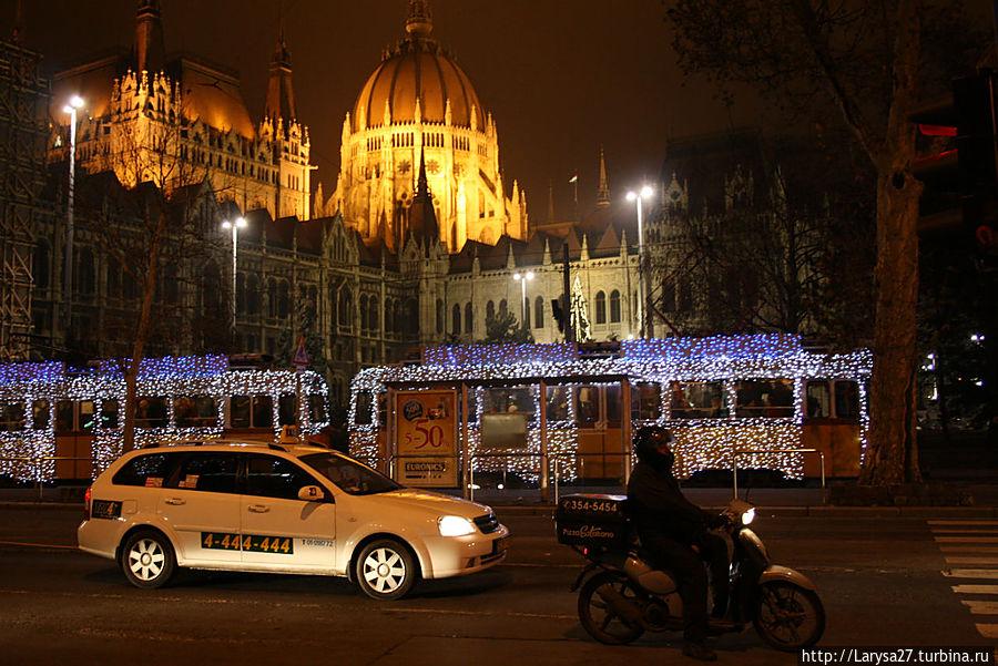 Будапешт... Рождество Будапешт, Венгрия