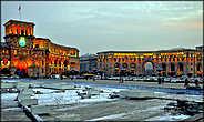 Площадь Республики зимой