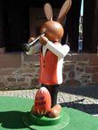Остерхазе — заяц, несущий яйца — пасхальный символ