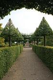 И только в конце 20 века были выделены необходимые средства  для восстановления парково-садового комплекса. Были подняты оригинальные чертежи и выполнены соответствующие работы.