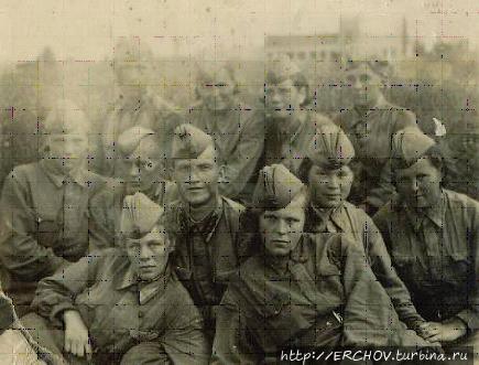 Зенитчицы 62-ого дивизиона. Фото из интернета.