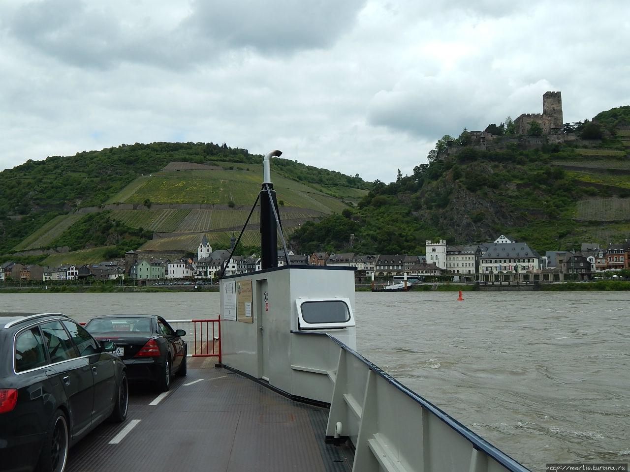 Долина Среднего Рейна (UNESCO 1066) Ущелье Рейна, Германия