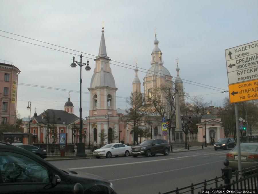 Аптека находится недалеко от Андреевского собора на Большом пр.