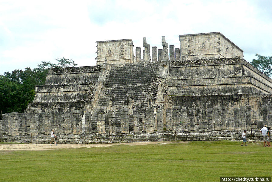 Земля Майя (Глава 4) Чичен-Ица город майя, Мексика