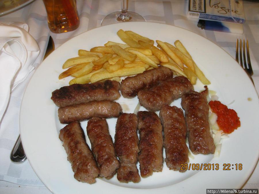 Чевапчичи — местный колбаски