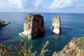 Голубиные скалы в бейруте
