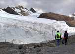 Вот она, громада. Кто говорил, что ледник растаял....