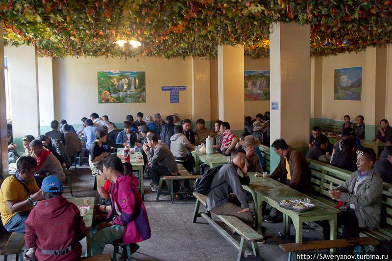 Чайный дом в Лхасе