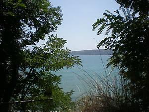 вид на море из Приморского парка