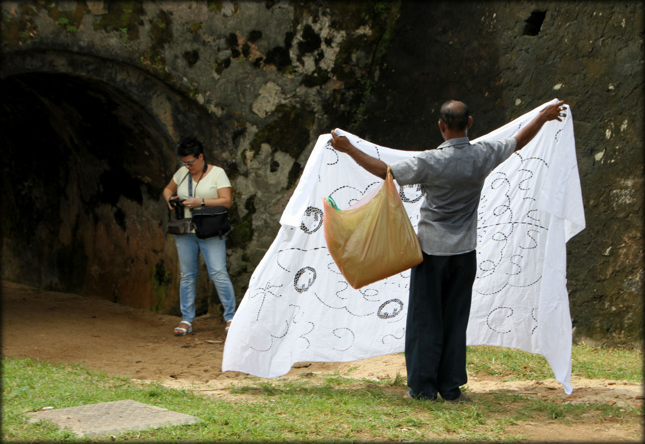 Самая большая крепость в Азии, построенная европейцами Галле, Шри-Ланка