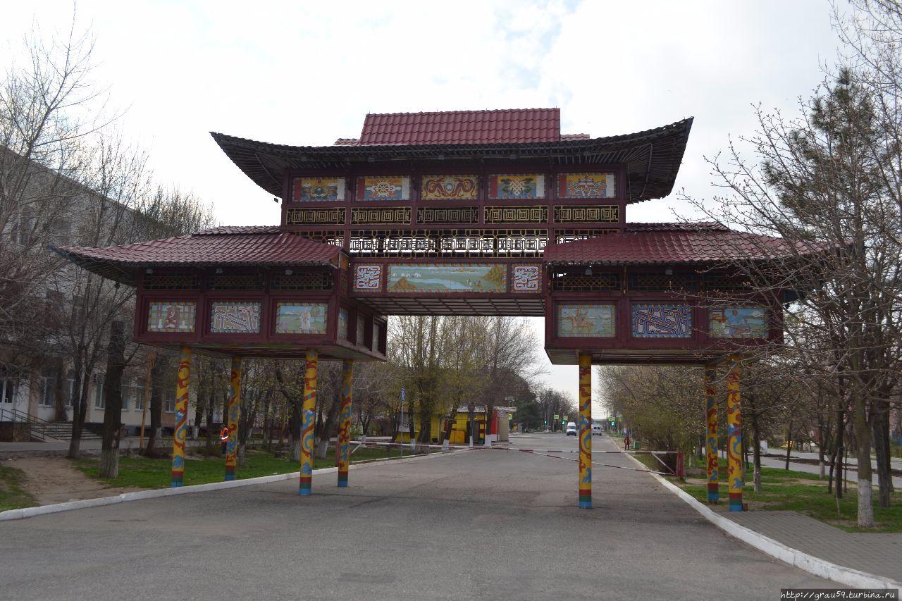 Триумфальная арка Элиста, Россия