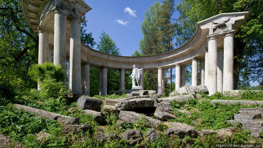 Вокруг Павловского дворца. Часть 2-я Павловск, Россия