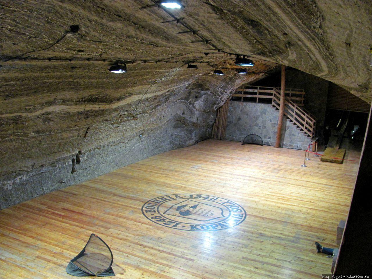 Соляная шахта Бохня Бохня, Польша