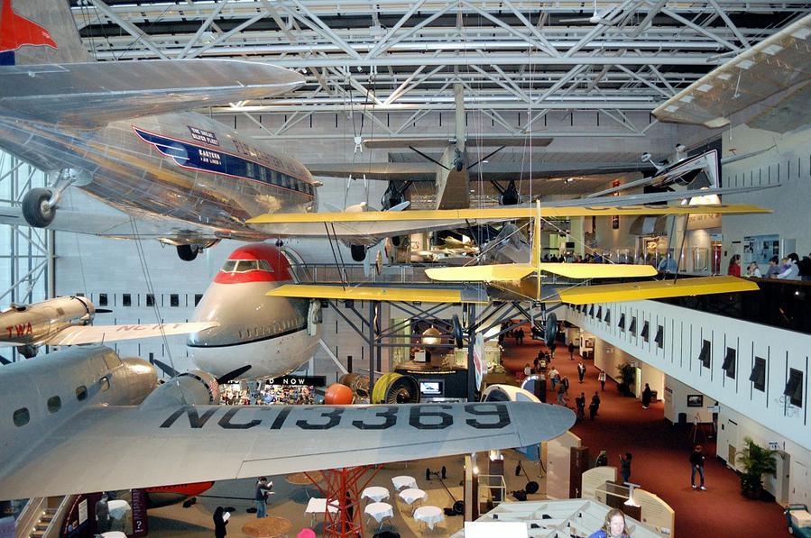 Общий вид одного из залов музея