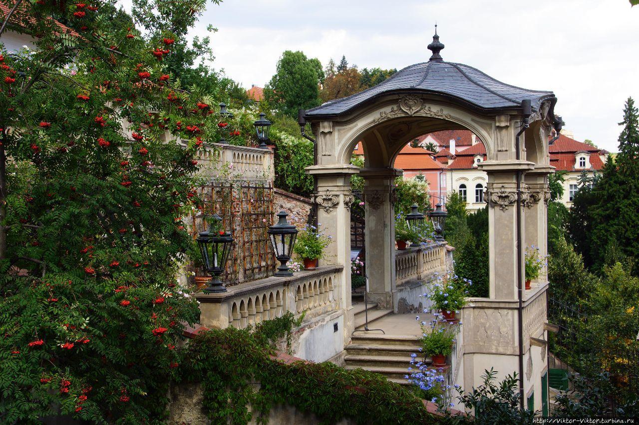 Сады Пражского Града. Малый сад Фюрстенберг Прага, Чехия